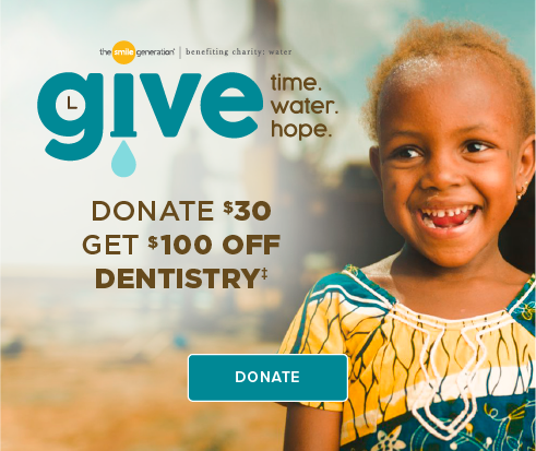 Donate $30, Get $100 Off Dentistry - Escondido Smiles Dentistry and Orthodontics